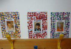 Ecole du Sacré Coeur PLOUNEOUR TREZ - L'étiquette de porte-manteau en maternelle