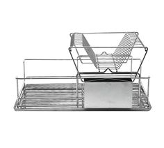 Buy Habitat Decker Double Layered Dish Drainer at Argos.co.uk - Your Online Shop for Dish racks and mats, Kitchenware, Cooking, dining and kitchen equipment, Home and garden.