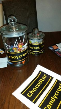 Birthday party ideas for candy corner