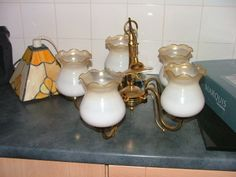 5 Old White Shades for sale 10 each i have a big Selection of Antiques Collectibles Vintage Cars . Ireland Homes, Antiques For Sale, Vintage Cars, Table Lamp, Home And Garden, Shades, Lighting, Big, Amazing