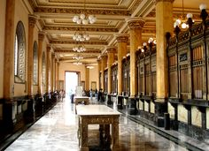 Palacio de Correos - Inside by israel, on Flickr | Mexico City