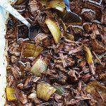 Slow Cooker Barbacoa Beef | Creme de la Crumb