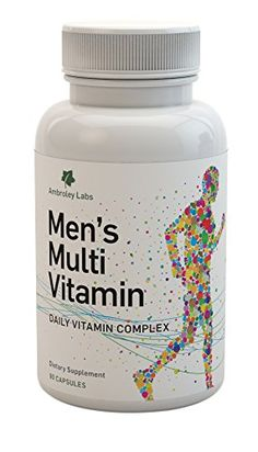 Vitamins For Men – Multivitamins High in Vitamins B6, B12, High in Vitamin D – to support memory function and reduce the risk of heart disease, K and Omega3/Omega 6 – Help To Restore Your Performance, Energy and Improve Your Health Best 30 Day Guarantee!