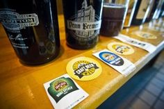 The three collaboration brews for Pittsburgh Craft Beer Week (#pcbw)