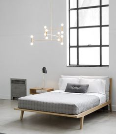 Home Remodel Open Concept Atomium raw brass pendant lamp Brass Lamp, Pendant Lamp, Brass Pendant, Modern Chandelier, Scandinavian Design, Scandinavian Beds, Bed Frame, Home Remodeling, Bedroom Decor