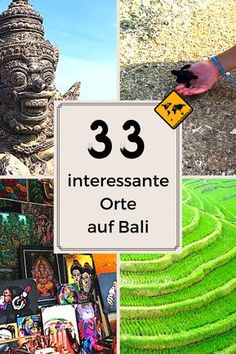 Wenn du bald nach Bali reisen möchtest, interessieren dich mit Sicherheit die interessantesten Orte der Insel. Unsere Top 33 Orte erfährst du, in dem du aufs Bild klickst. #Bali #Indonesien #interessanteOrte #BaliBestOf