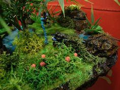 Layered undergrowth