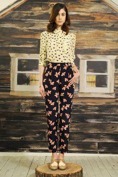 Lauren Moffatt RTW Fall 2013 - Slideshow - Runway, Fashion Week, Reviews and Slideshows - WWD.com