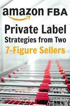 Amazon FBA private label strategies from two 7-figure sellers! A must-read, via @sidehustlenation
