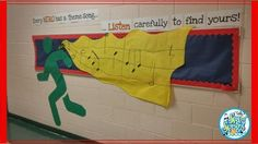 Super heroes are everywhere, so why not in the music room! This great bulletin board was inspired by one posted by James Michael Foster...