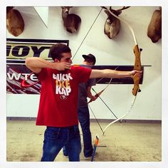 Successful day at the archery range! #archery #katniss #legolas #recurvebow #Padgram