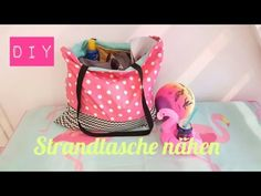 DIY Strandtasche/Beach Bag selber nähen - YouTube