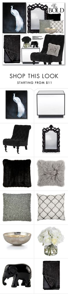 """""""Go For The Bold"""" by mmmartha ❤ liked on Polyvore featuring interior, interiors, interior design, home, home decor, interior decorating, Mitchell Gold + Bob Williams, Ethan Allen, Diane James and The Elephant Family"""
