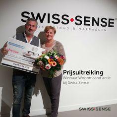 Prijsuitreiking Woonmaand actie 2015 bij Swiss Sense Amsterdam | SwissSense.nl