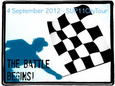 2day is THE day - The #SUP11CityTour battle begins:-)! Good luck!