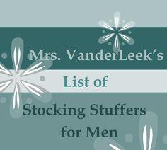 100+ Unique Stocking Stuffers for Men