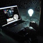 "Lámpara Bombilla USB ""Bright Idea"""