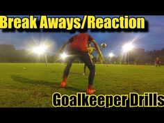 Goalkeeper Drills: Improve Reactions, Reflexes and 1v1s - YouTube