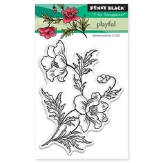 Penny Black PLAYFUL Clear Stamp Set 30-347