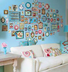 Decorar con cuadros, láminas, grabados, lienzos y fotos