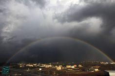 Arcoiris en Nablus(Palestina), hoy 3 de Enero. | Matemolivares