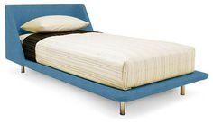 Nook Twin Bed, Aqua - modern - kids beds - Bludot