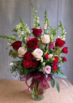 Each Valentine's Day we fill our flower shop to the brim with long-stem roses, stargazer lilies, elegant orchids, and 'Hearts' roses. All flower arrangements are available for local Lexington, KY delivery. Valentine's Day Flower Arrangements, Silk Floral Arrangements, Fresh Flower Arrangement, Valentine Bouquet, Valentines Flowers, Red Rose Flower, Red Roses, Diy Flower, Cactus Flower
