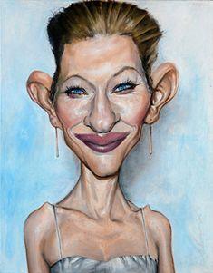 Cate Blanchett  Artist: Derren Brown