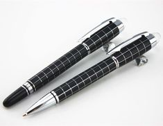 2Pcs Baoer 79 Real Special Offer Writing Cross Line Ballpoint Pen +Roller Ball Pen