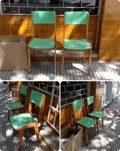 sillas americanas retro vintage