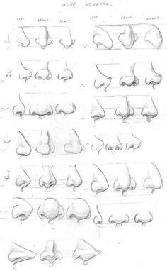 [Туториалы: нос,рот,уши] | 40 фотографий