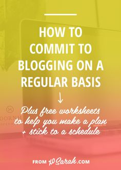 You spend the time filling your editorial calendar, you're going steady for a week or two, and then something gets in the way, be it life, work, or that little voice inside your head telling you your idea is lame. Here's how to find a way to stay on track and make blogging a priority, especially if you're using it for income or as part of a business strategy!