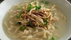 Chicken noodle soup from scratch (Dak-kalguksu) recipe - Maangchi.com