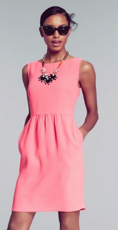 The PERFECT Shift Dress from J.Crew. Tried this on yesterday. Love. Must have.