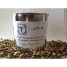 Cool Mint - our most sold herbal tea at Tante T!
