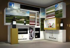 PLV Mouton Cadet, Wine Table, European Tour, Liquor Cabinet, Table Settings, Display, Store, Furniture, Home Decor
