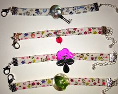 tuto bracelet liberty - YouTube