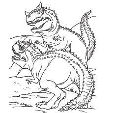 Fabulous Free Dinosaur Coloring Pages – Slavyanka | 230x230
