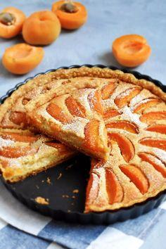 Apricot Frangipane Tart - Pardon Your French Tart Recipes, Sweet Recipes, Baking Recipes, Dessert Recipes, Apricot Recipes, Almond Recipes, Sweet Pie, Sweet Tarts, Just Desserts