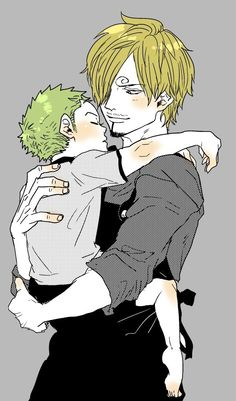 "Zoro x Sanji #one piece #zosan -This reminds of tshapo-chi's ""to be broken, only to heal again""."