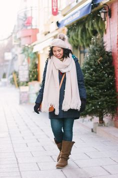 How to Look Chic While Bundled Up for Winter #winterfashion #winteroutfit