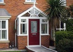 Do you want to built a porch extension and don't know about porch prices? Check out the average porch cost here to get started! Porch And Balcony, House With Porch, Pictures Of Porches, Simple Porch Designs, Porch Extension, Glass Porch, Shed Construction, Front Porch Design, Entryway