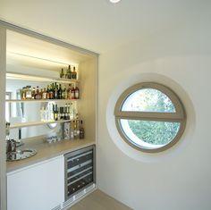 Haus K. - Wien www.wagner-fenster.at Aluminium, Alcove, Modern, Kitchen Cabinets, Bathtub, Windows, Bathroom, Design, Home Decor