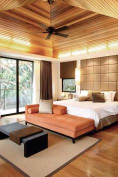 An 800sqm Resort Style Dream Home In Makati. Asian Style BedroomsModern ...