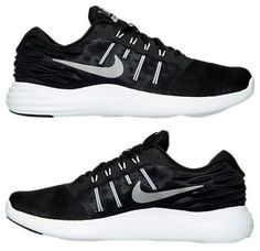 big sale 230f8 feb1f NIKE LUNARSTELOS MEN s RUNNING M MESH BLACK - SILVER - ANTHRACITE - WHITE  USA SZ