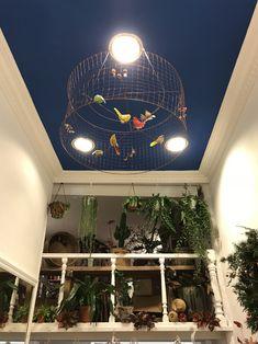 Para los que os fijasteis en ella... La original lámpara de techo de #mariposasvolando también tiene su historia. Susana la vió en una tienda de Madrid y al volver a San Sebastián, Elena le habló de la misma. Lámpara de alambre de una diseñadora francesa, detalles de Amaia Aizpurua de #buganvillainteriorismo .  Coincidencias y señales por doquier que auguran buena suerte y prosperidad como las mariposas de!un sueño.
