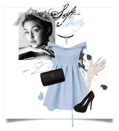 """""""Latenight party -"""" by fxxkwithus on Polyvore featuring Black, Chi Chi, New Look, Prada and Kate Marie"""