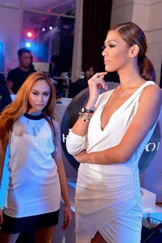 Charriol St-Tropez party at Opus, Manila, Philippines - October 2012 Charriol, Manila Philippines, October, White Dress, Parties, Dresses, Fashion, Fiestas, Vestidos