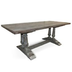 Capistrano Rectangular Dining Table....we just bought this....hope it works out in our new place!