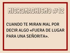 Micromachismo #12